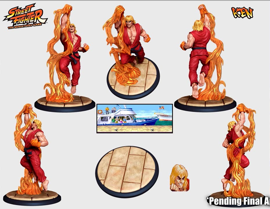 Street Fighter: The Miniatures 7 out of 9 image gallery