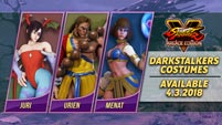 Darkstalker Costumes in Street Fighter 5 image #1