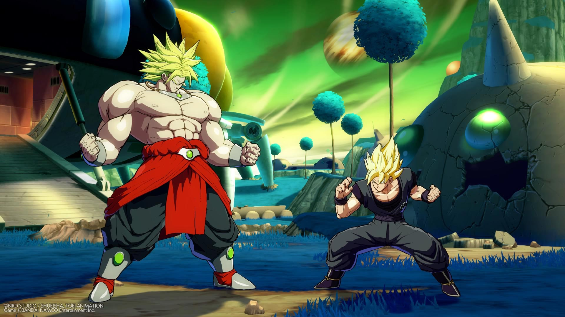 Broly and Bardock screenshots in Dragon Ball FighterZ 1 out of 12 image gallery