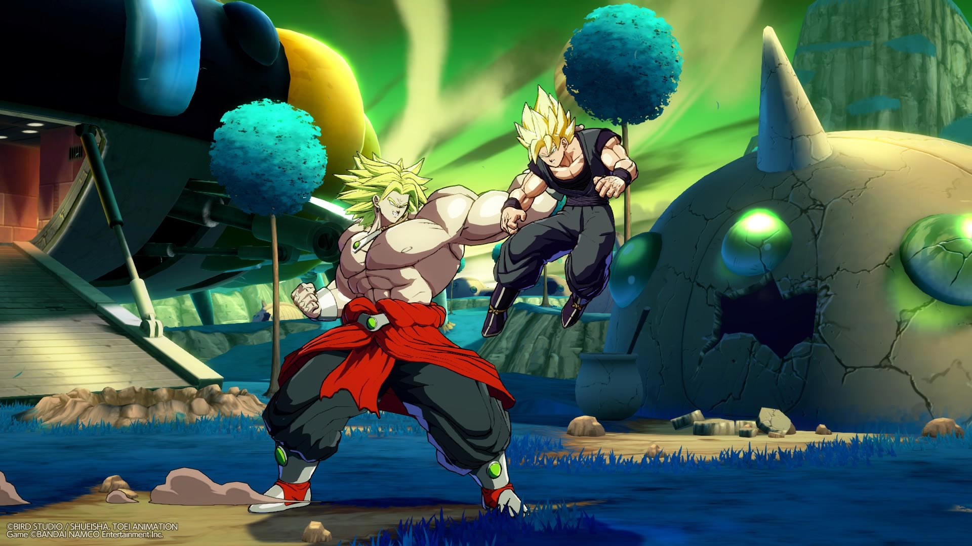 Broly and Bardock screenshots in Dragon Ball FighterZ 2 out of 12 image gallery