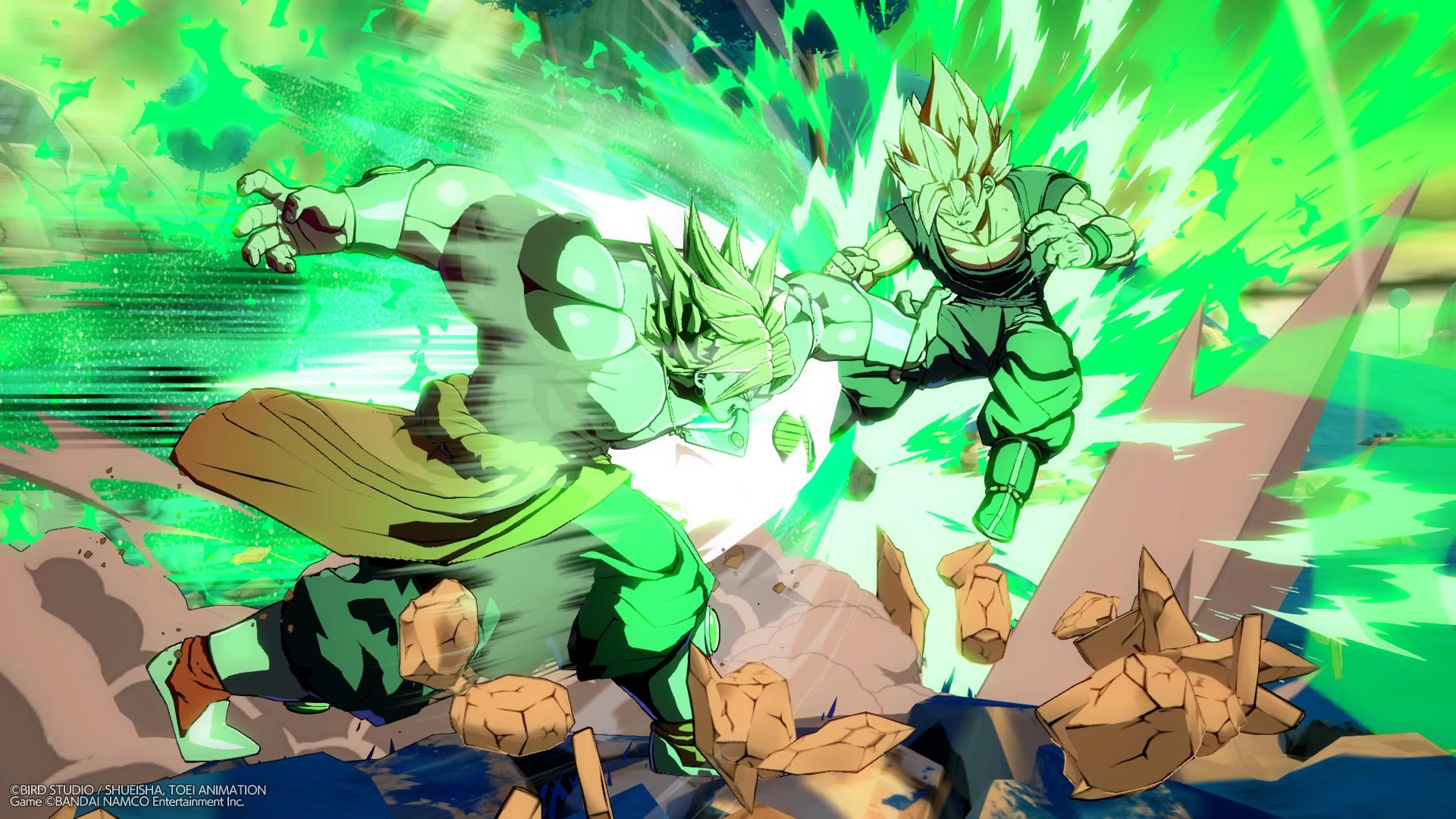 Broly and Bardock screenshots in Dragon Ball FighterZ 8 out of 12 image gallery