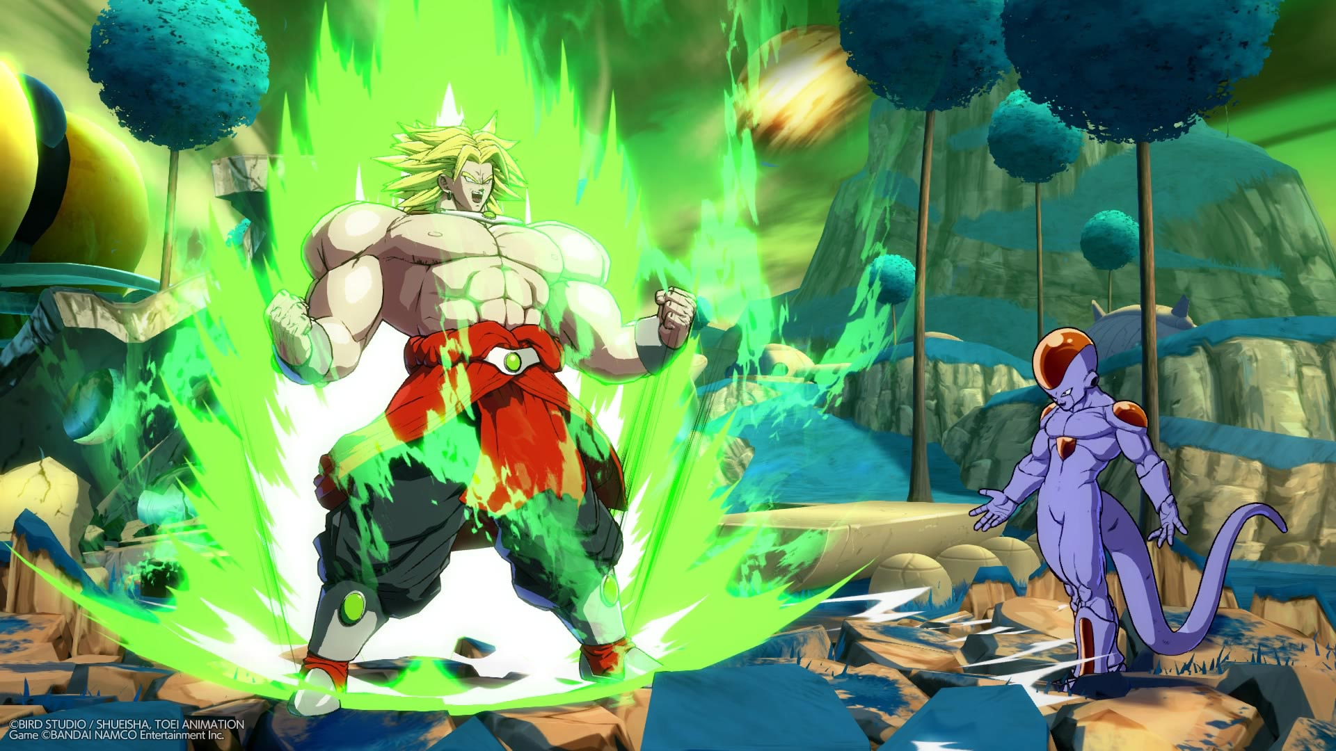 Broly and Bardock screenshots in Dragon Ball FighterZ 9 out of 12 image gallery