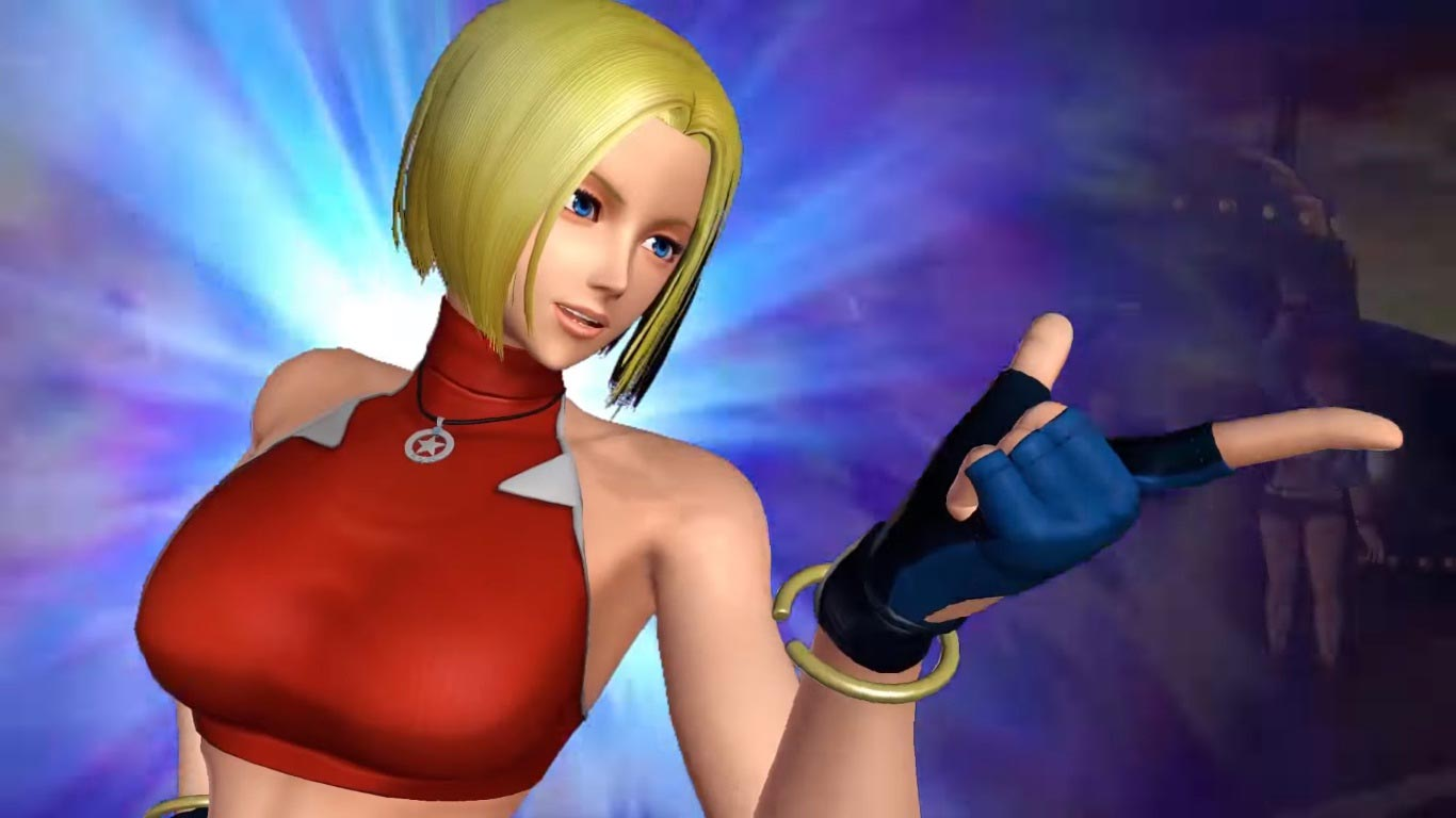 Blue Mary in King of Fighters 14 4 out of 6 image gallery