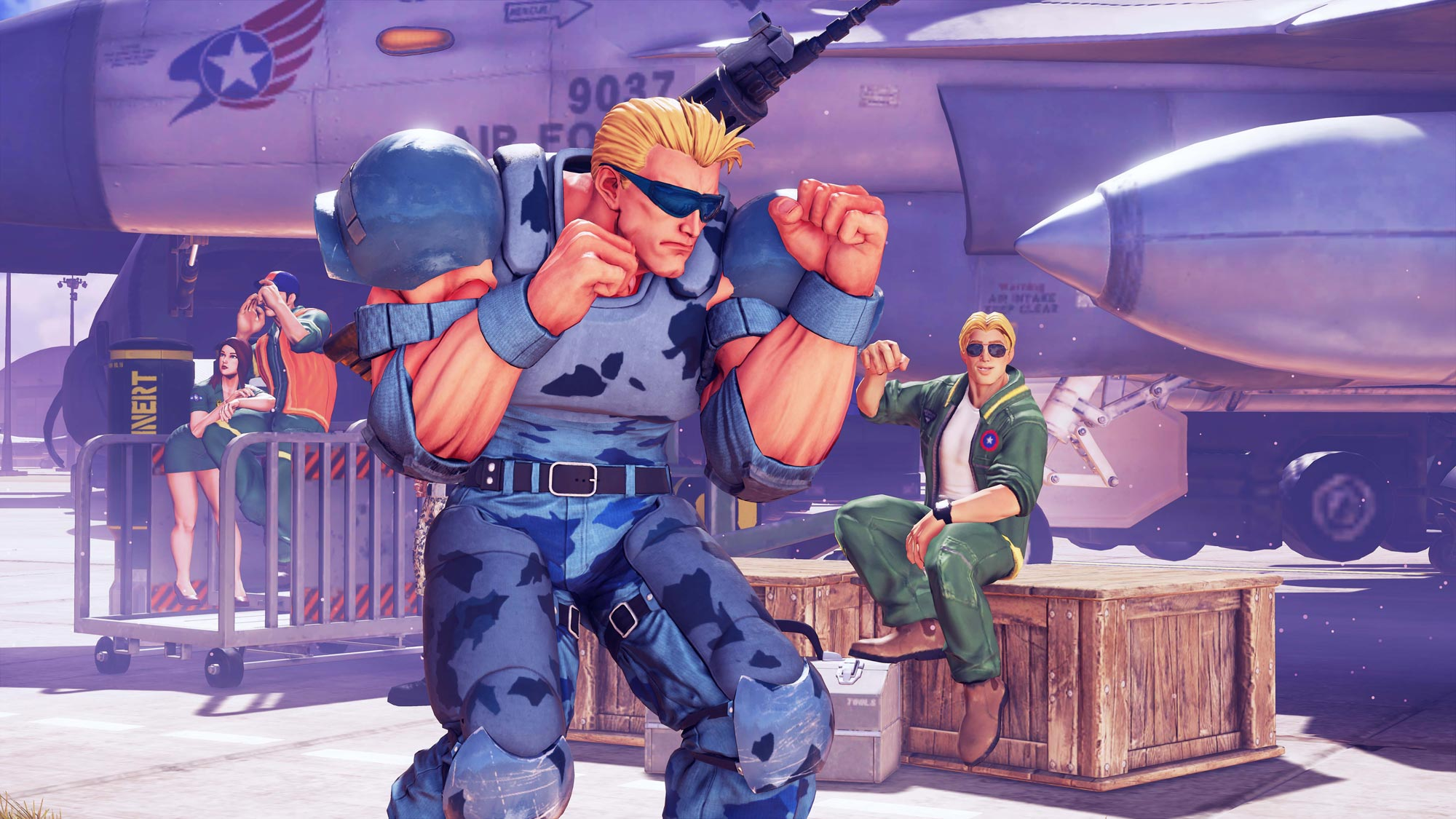 Guile Cross over costume - The Nameless Super Soldier 1 out of 7 image gallery