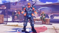 Guile Cross over costume - The Nameless Super Soldier image #3