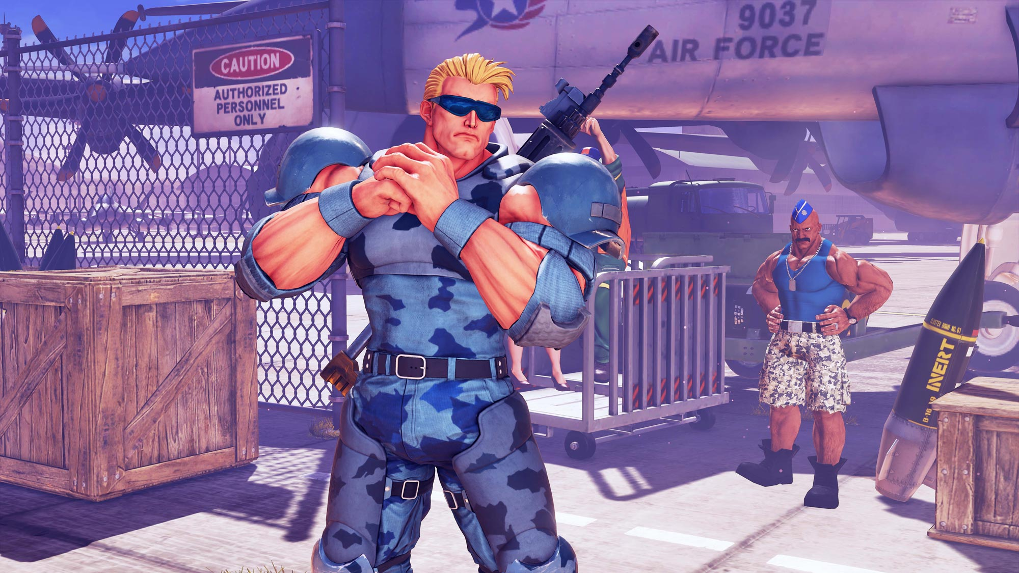 Guile Cross over costume - The Nameless Super Soldier 4 out of 7 image gallery