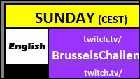 Brussels Challenge Major Edition schedule image #2