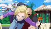 Android 18's hair color image #2