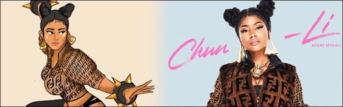 Resultado de imagen para nicki minaj chun li