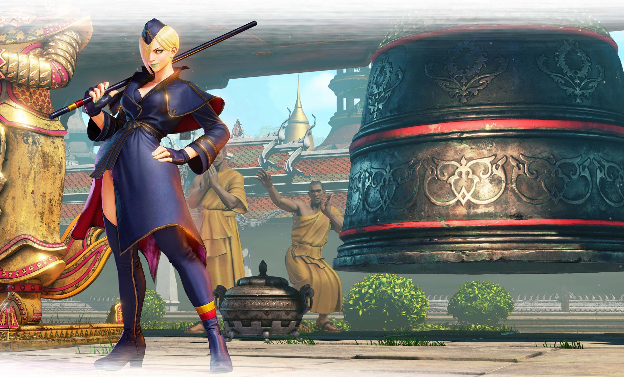 Falke in Street Fighter 5: Arcade Edition 1 out of 15 image gallery