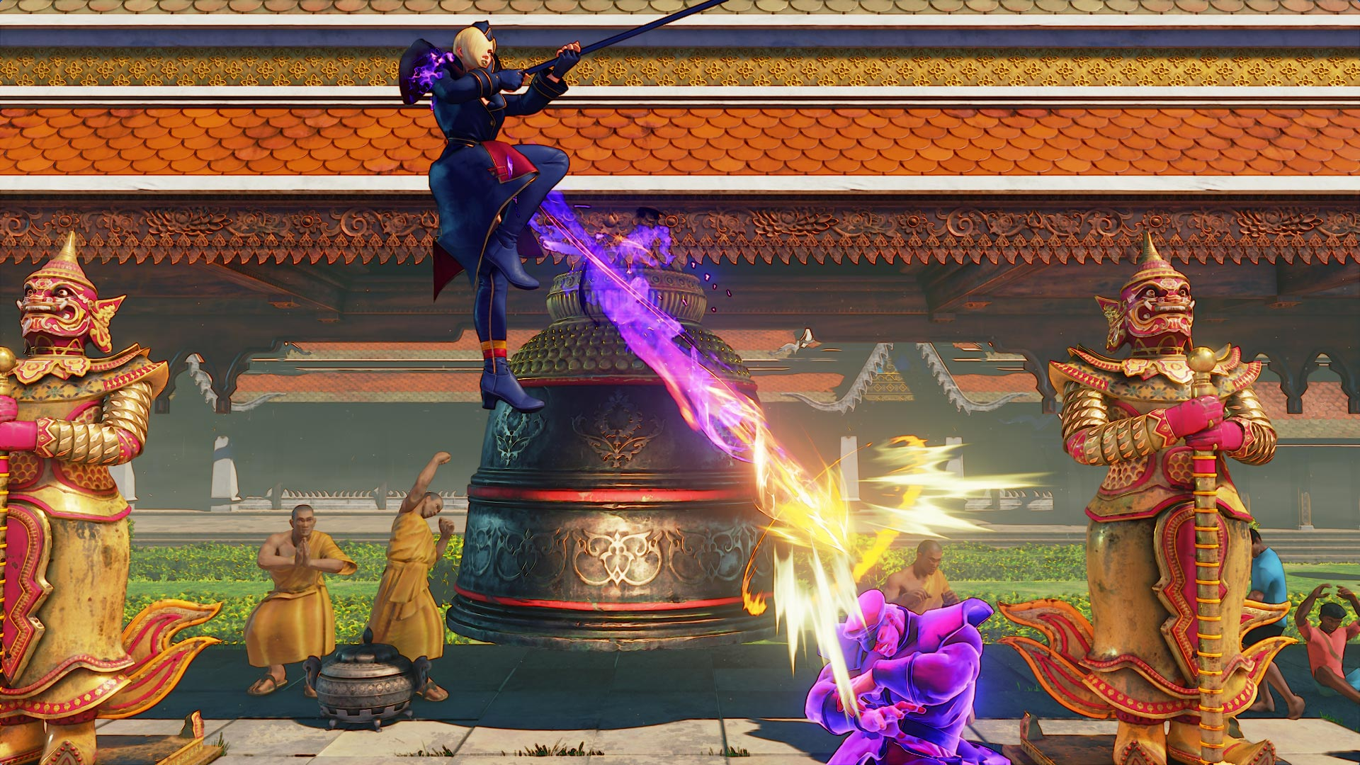 Falke in Street Fighter 5: Arcade Edition 2 out of 15 image gallery