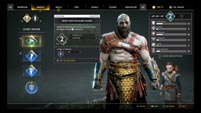 God of War's armor menu image #1