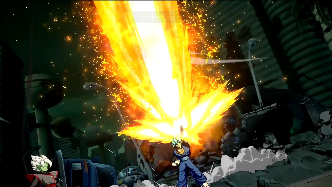 Vegito in Dragon Ball FighterZ 7 out of 9 image gallery