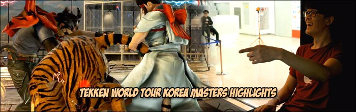 Ulsan S Play With Kazumi S Tiger Stuns Opponent Rangchu S Panda Goes Berserk And Lowhigh Low Profiles Tekken World Tour Korea Masters Highlights