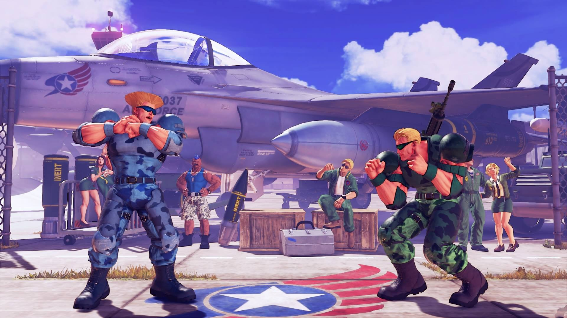 Guile's Nameless Solider colors 1 out of 5 image gallery