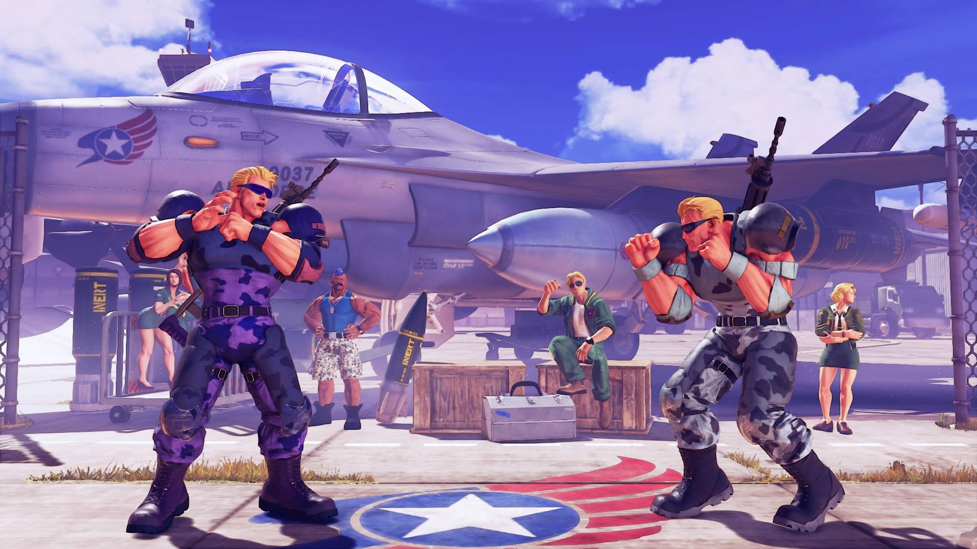 Guile's Nameless Solider colors 2 out of 5 image gallery