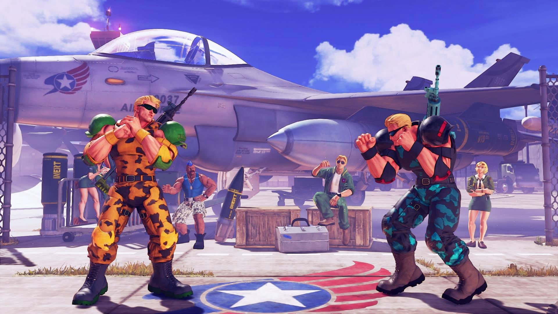 Guile's Nameless Solider colors 4 out of 5 image gallery
