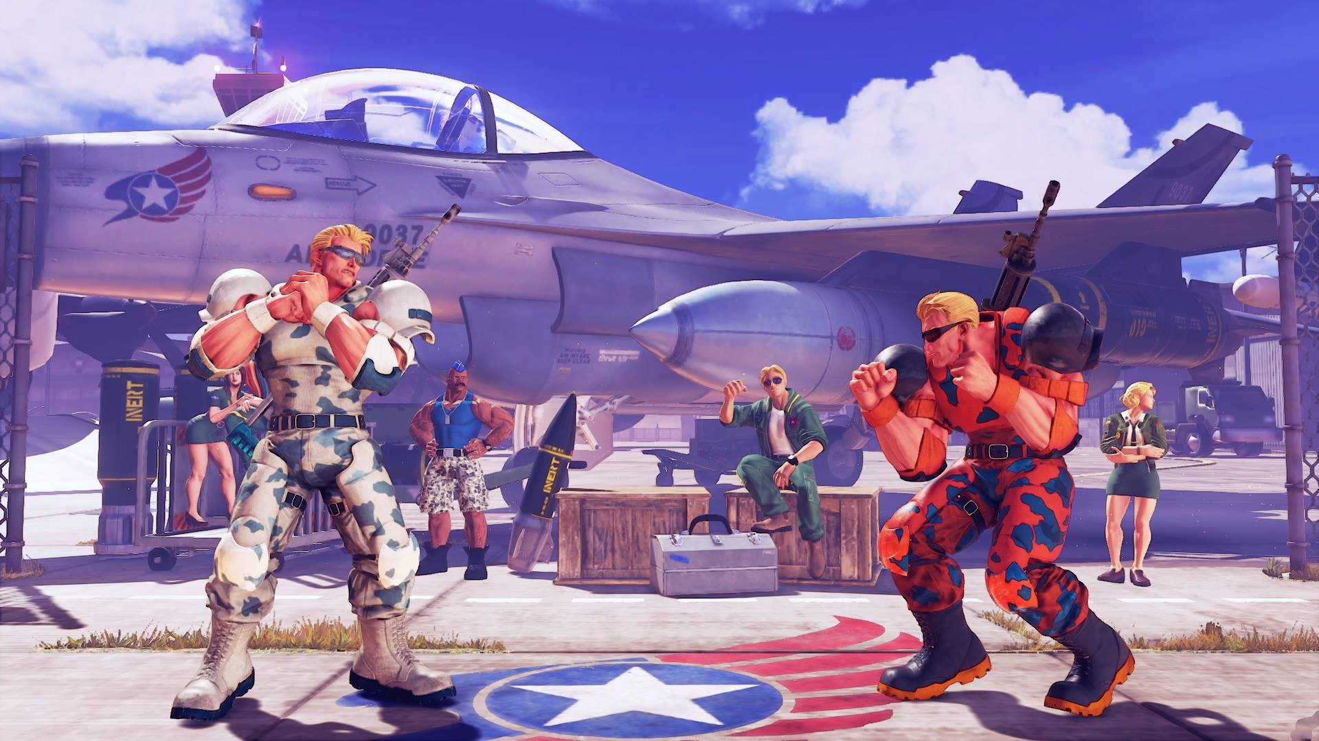 Guile's Nameless Solider colors 5 out of 5 image gallery