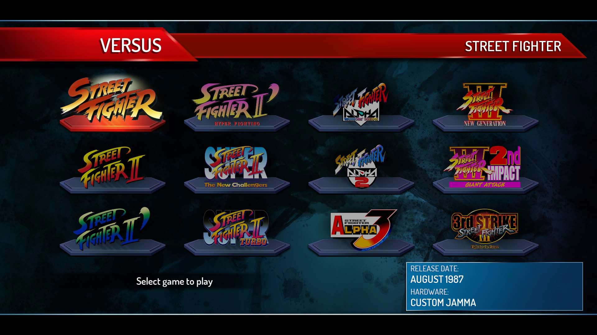 Street Fighter 30th Anniversary Collection Training and Versus Mode 2 out of 7 image gallery