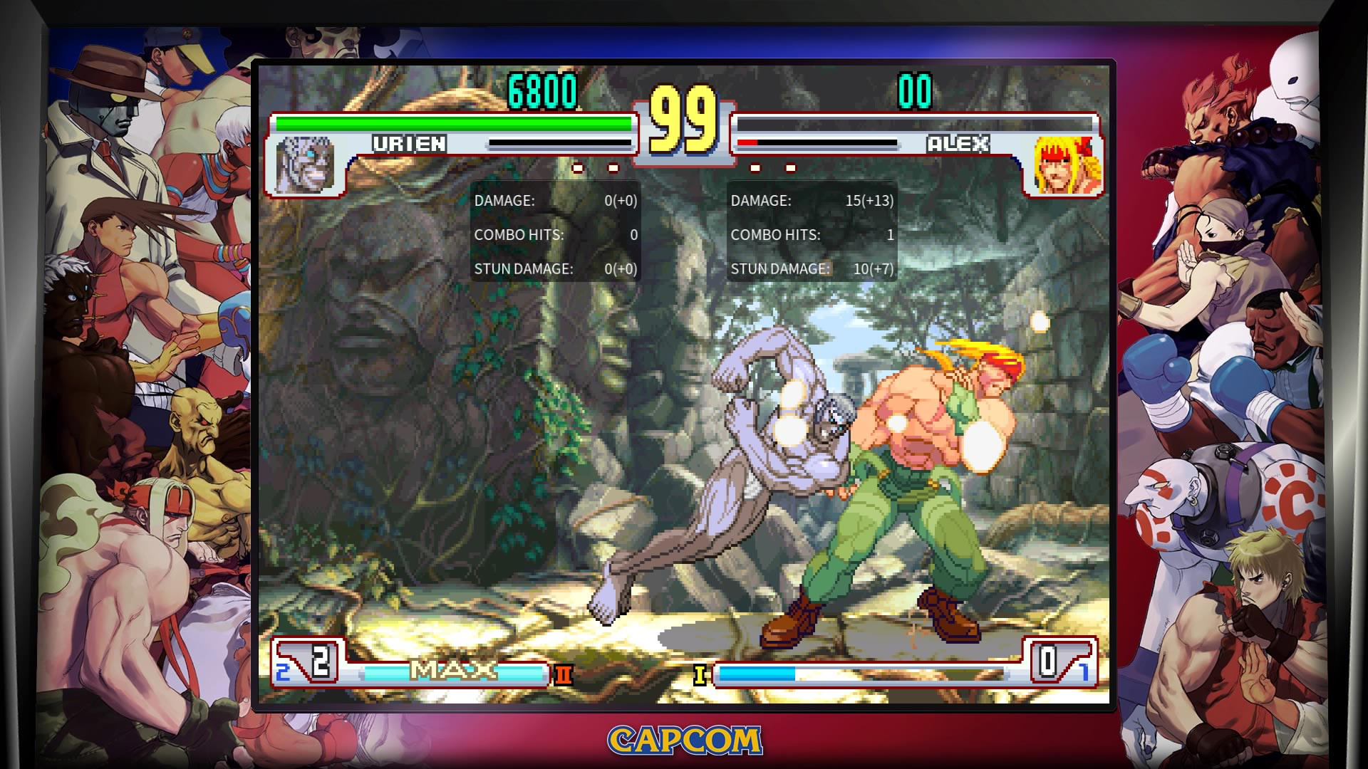 Street Fighter 30th Anniversary Collection Training and Versus Mode 4 out of 7 image gallery