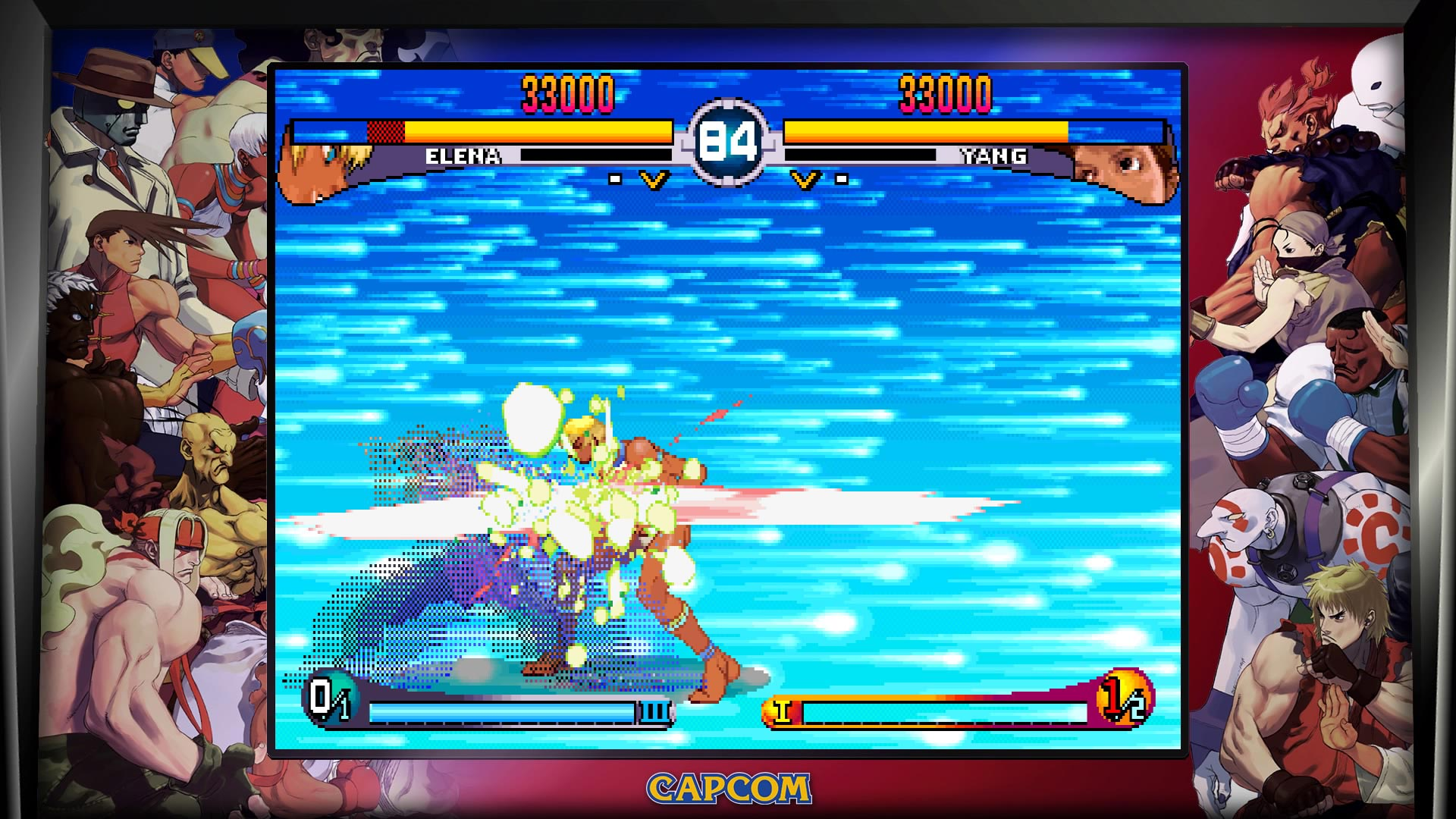 Street Fighter 30th Anniversary Collection Training and Versus Mode 5 out of 7 image gallery