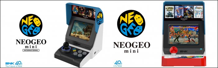 Neo Geo Mini Officially Unveiled Comes With 40 Games And Built In Screen