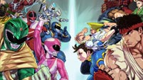 Power Rangers and Street Fighter in Power Rangers: Legacy Wars image #9