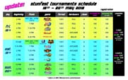 Stunfest 2018 Event Schedule  out of 1 image gallery