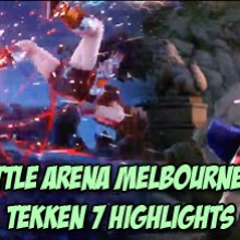 Dimeback's perfect sidestep bought him the time he needed while Nobi is saved by a wake up low kick - BAM 10 Tekken 7 highlights