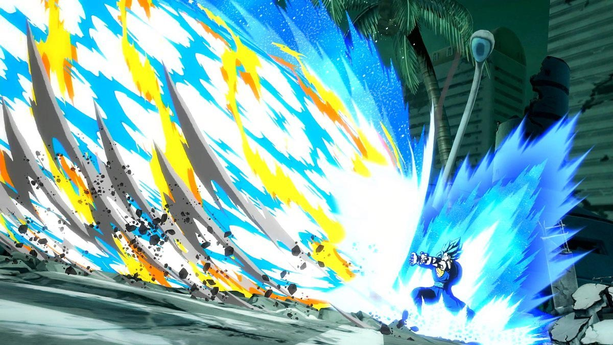 Fused Zamasu and Vegito Blue Dramatic Finish in Dragon Ball FighterZ 2 out of 5 image gallery