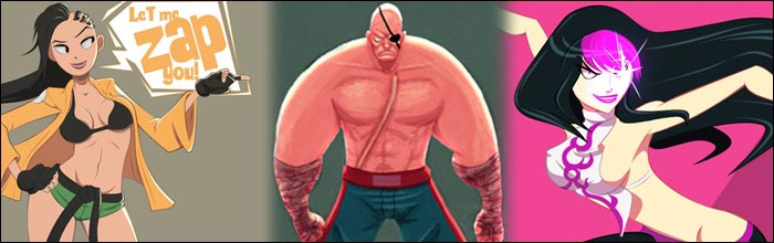 Aru-Metalhead's fighting game art makes these Street Fighter