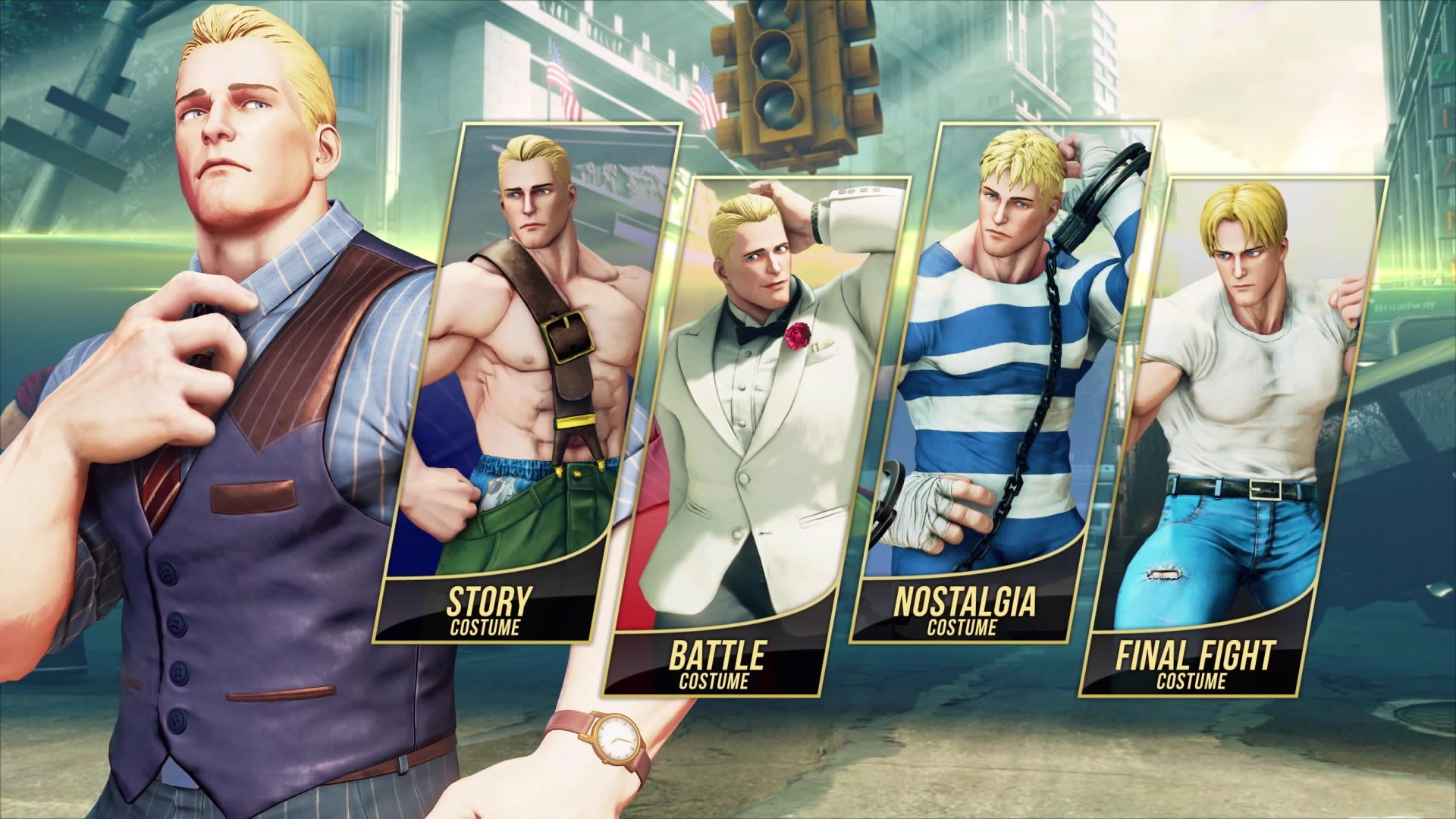 Cody Street Fighter 5: Arcade Edition reveal 1 out of 9 image gallery
