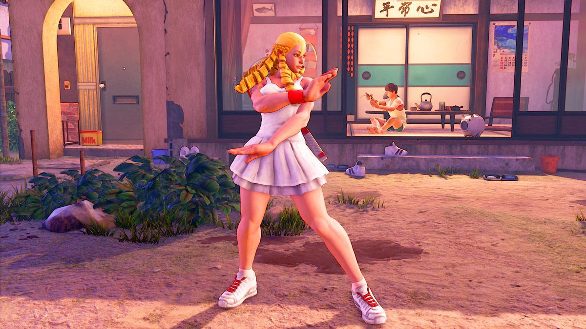 """Street Fighter 5: Arcade Edition """"Professional"""" costumes 1 out of 3 image gallery"""