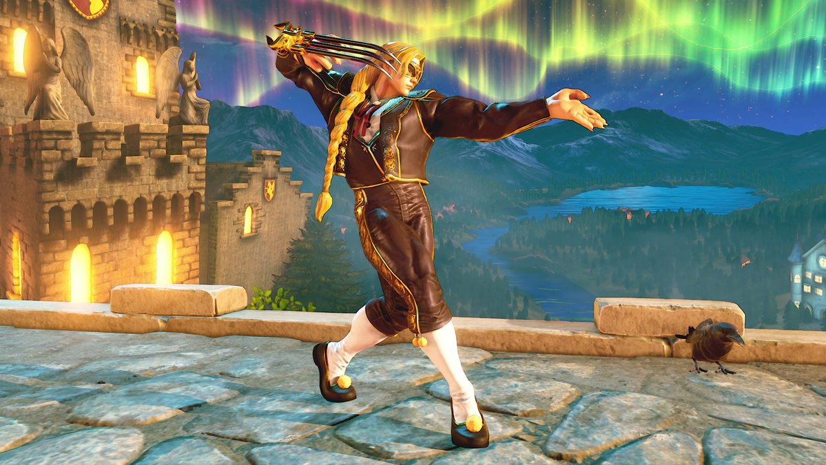 """Street Fighter 5: Arcade Edition """"Professional"""" costumes 3 out of 3 image gallery"""