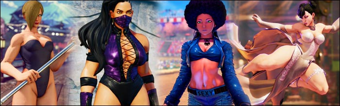 street fighter 5 characters female