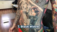Guinness World Record Marvel Comics tattoos image #6