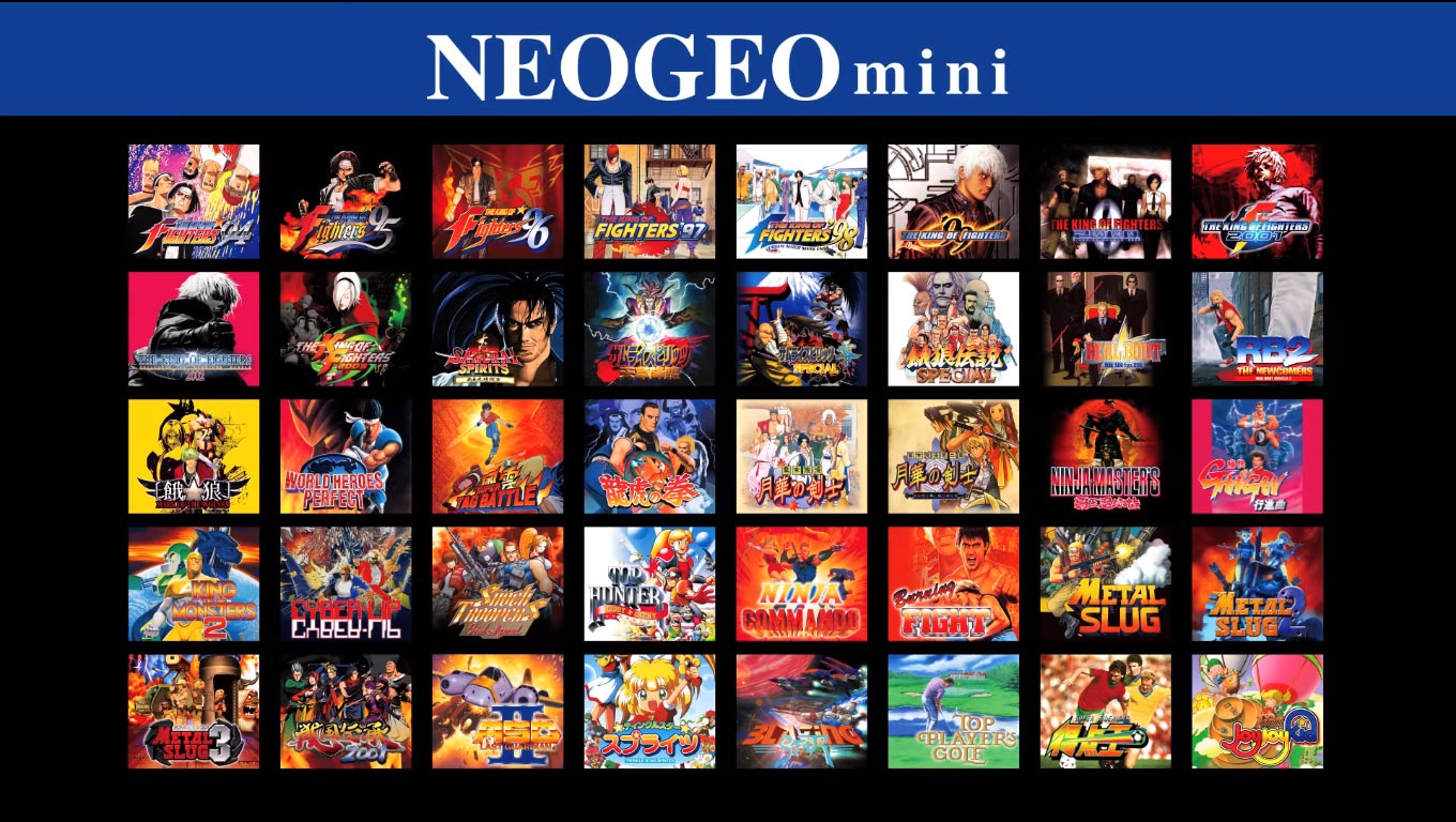 NEOGEO Titles 1 out of 2 image gallery