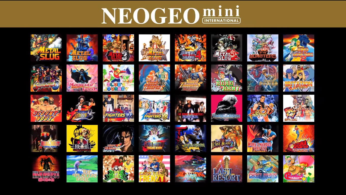 NEOGEO Titles 2 out of 2 image gallery