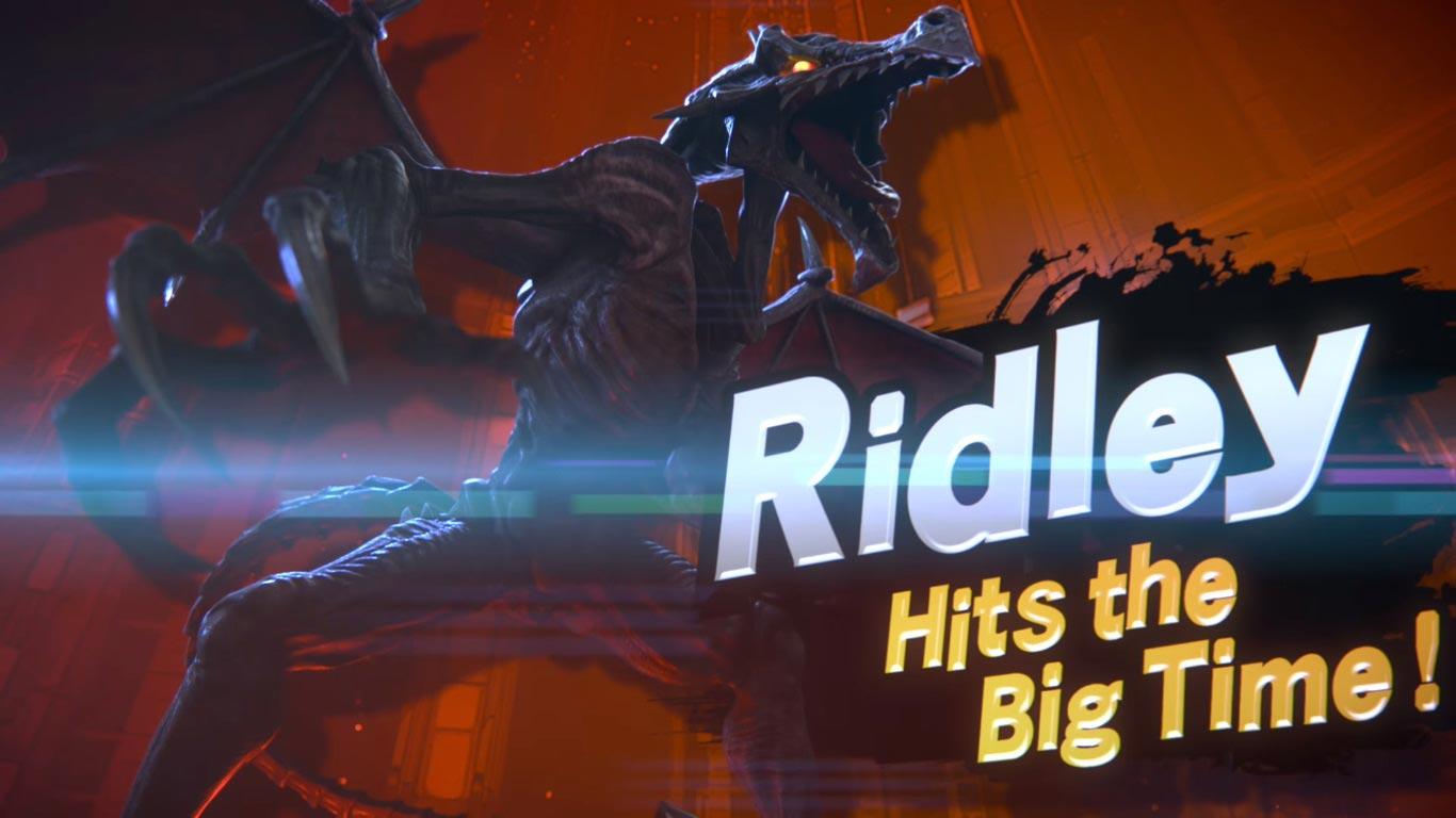 Ridley in Super Smash Bros. Ultimate 5 out of 12 image gallery