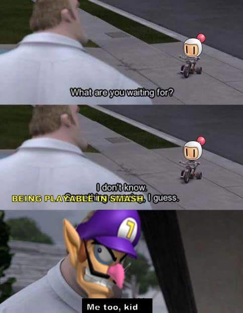 Waluigi Not In Super Smash Bros Ultimate Memes 2 Out Of 14 Image