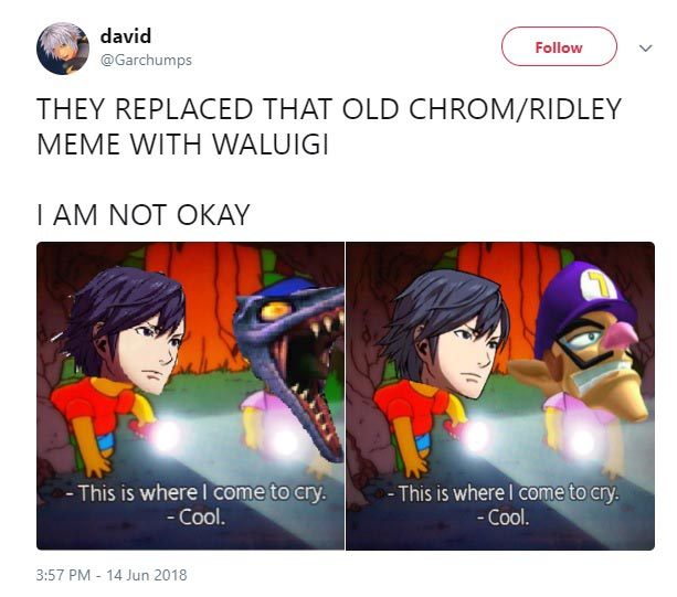 Waluigi Not In Super Smash Bros Ultimate Memes 1 Out Of 14 Image