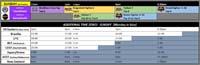 Northwest Majors X Event Schedule image #2
