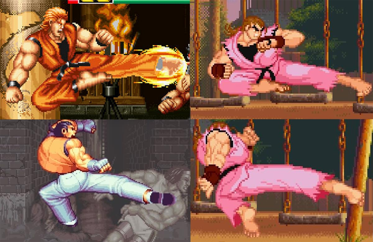 Dan Comparisons To Ryo And Robert In Art Of Fighting 1 Out Of 6