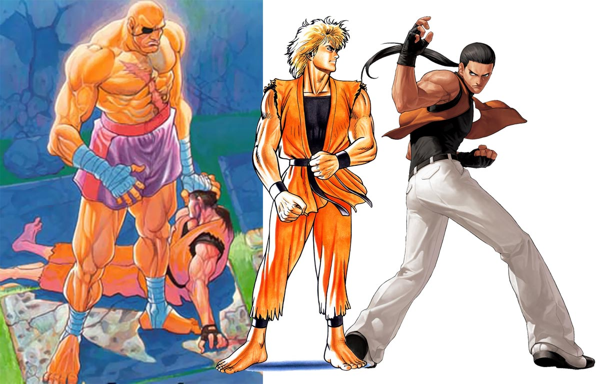 Dan Comparisons To Ryo And Robert In Art Of Fighting 5 Out Of 6