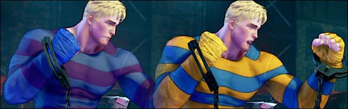 Here are Codyu0027s nostalgia costume colors and Easter egg variation in Street Fighter 5 Arcade Edition  sc 1 st  Eventhubs & Here are Codyu0027s nostalgia costume colors and Easter egg variation in ...