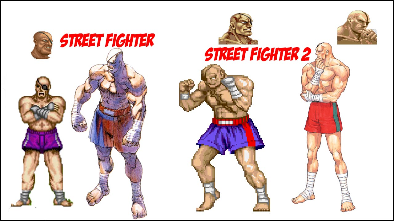 Sagat visual history 1 out of 6 image gallery