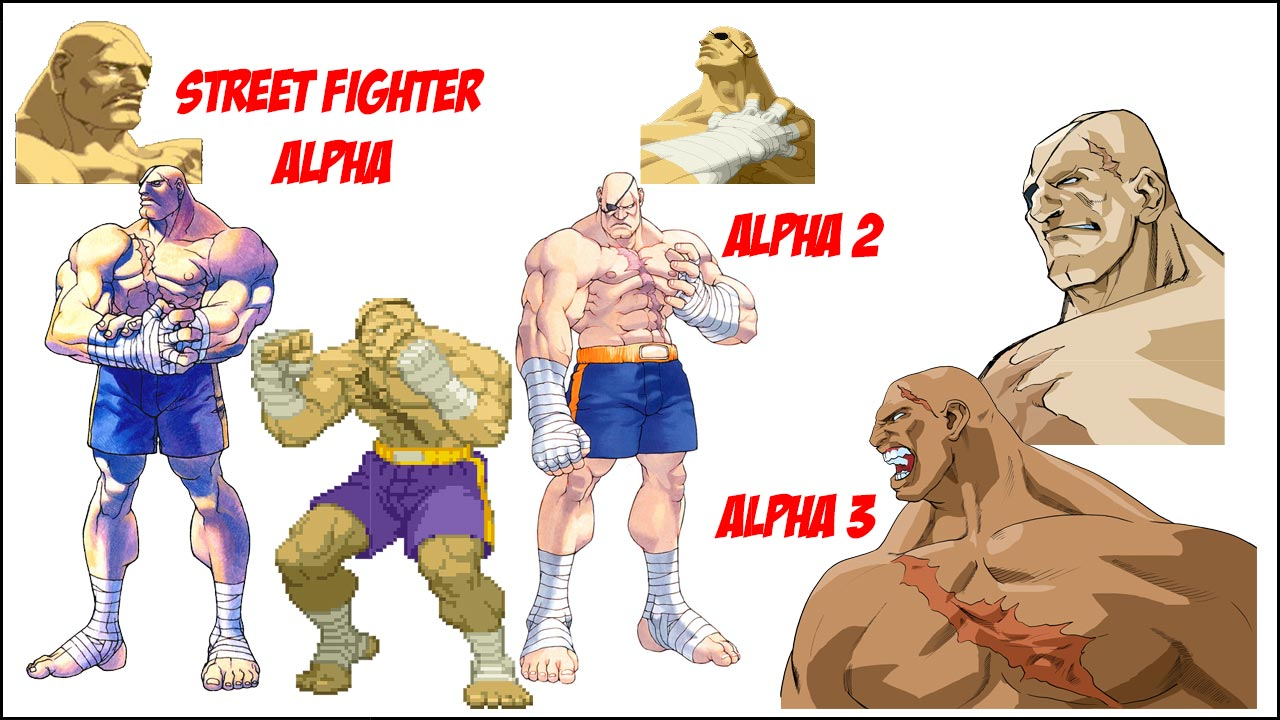 Sagat visual history 2 out of 6 image gallery