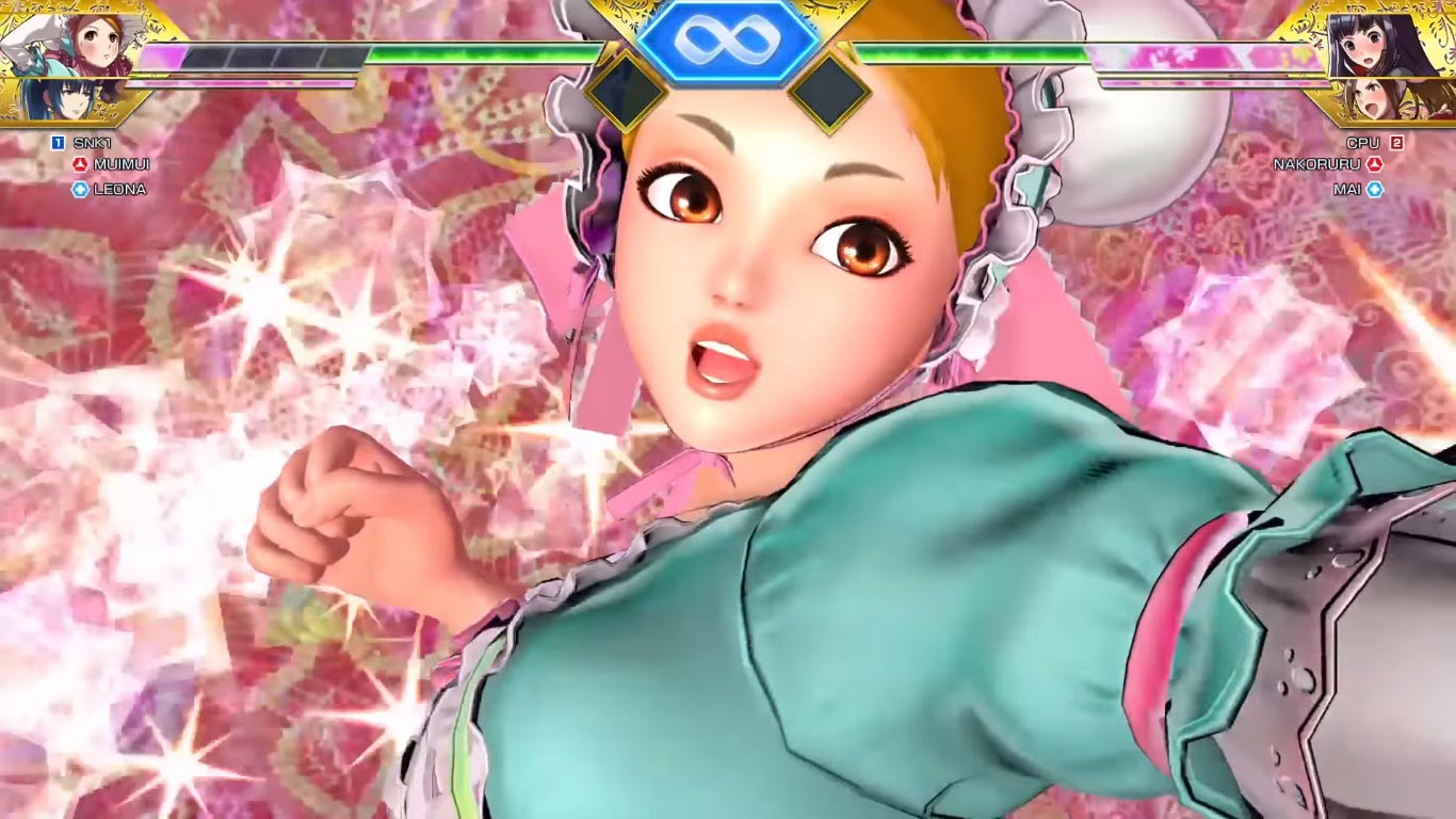 Mui Mui in SNK Heroines Tag Team Frenzy 3 out of 6 image gallery
