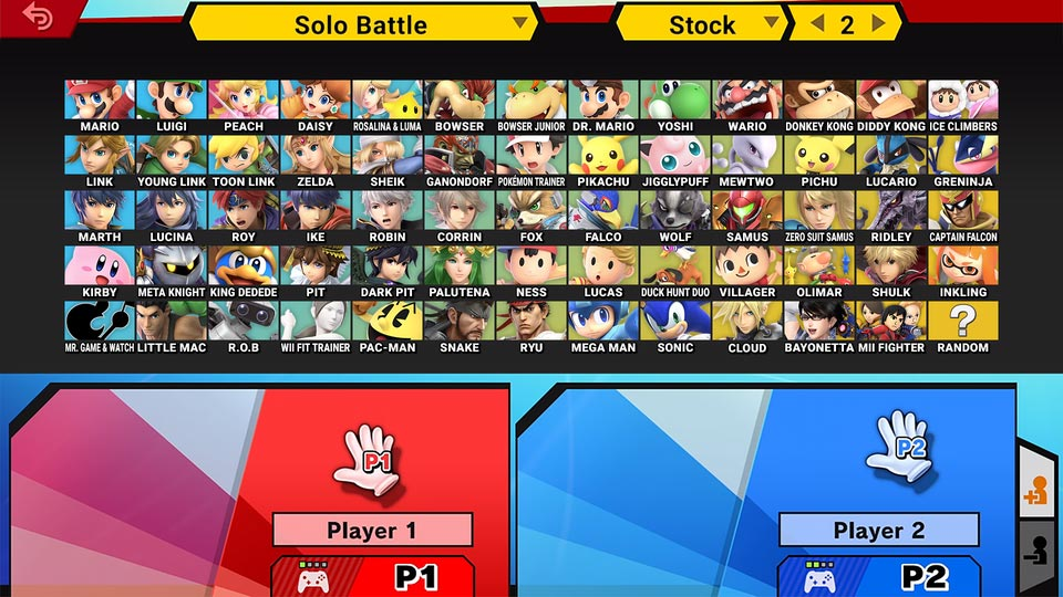 Smash Ultimate character select mock up 1 out of 3 image gallery