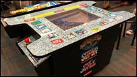Street Fighter 2 arcade table image #1
